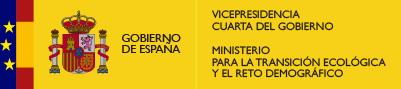 Logo Ministerio para la Transición Ecológica y el Reto Demográfico