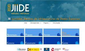 portada XI Jornadas Ibéricas de infraestructuras de Datos Espaciales